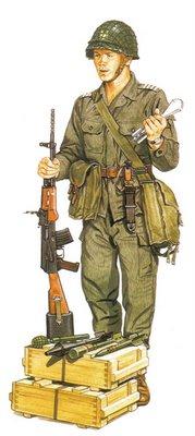 Cabo Polaco, Infantería motorizada.