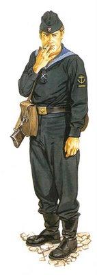 Marinero de la RDA (Rep. Democrática Alemana), Comandancia Costera Fronteriza.