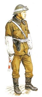Sargento Mayor, RDA (Rep. Democratica Alemana), Servicio de Comandancia.