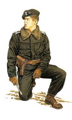 Sargento Polaco, tripulante de Tanque.
