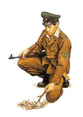 Soldado Checoslovaco, Guarda Fronterizo.