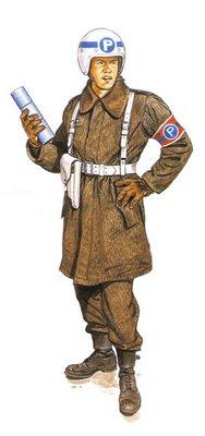 Soldado Checoslovaco, Regulador de Tráfico de Tropas.