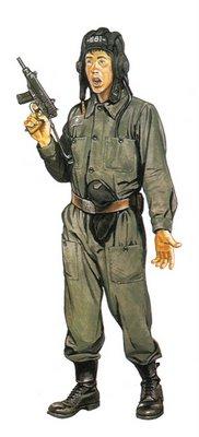 Soldado Checoslovaco, tripulante de Tanque.