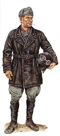 Teniente, División Acorazada Centauro, Yugoslavia 1941.