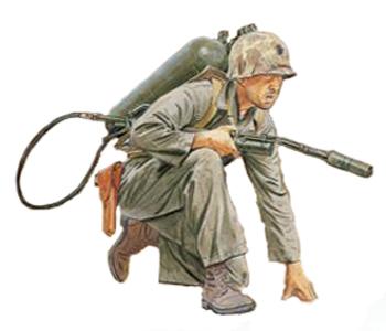 Soldados, Uniformes y Escenas de la Segunda Guerra Mundial (Dibujos y Pinturas) 2c2aa-division-u-s-marine-corps-tarawa-1943