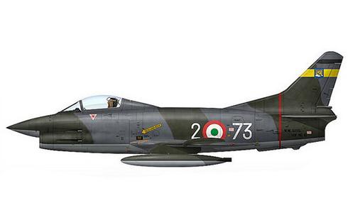 Aeritalia Fiat G.91 R, 103º Grupo Caza bombarderos, Aeronautica Militare Italiana, Treviso, 1985.