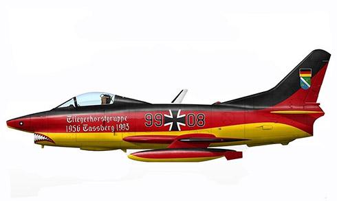 Aeritalia Fiat G.91 R-3, Luftwaffe, 1993.