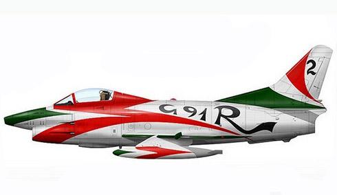 Aeritalia Fiat G.91 R1B, 2º Stormo, Gruppo Caccia Bombardieri, Aeronautica Militare Italiana, 1992.