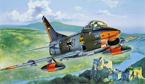 Aeritalia Fiat G.91R-3, Luftwaffe, Alemania, 1986.