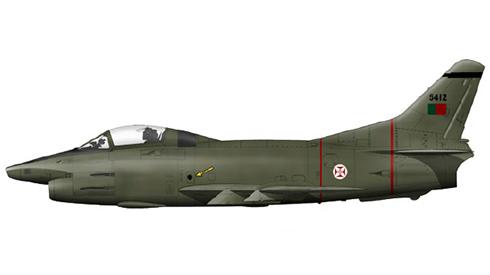 Aeritalia Fiat G.91R-4, Esquadra 121, Força Aérea Portuguesa, Bissau-Bissalanca,1973-1974.