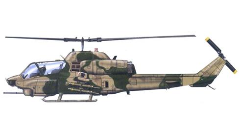 AH-1 W COBRA, USMC, Operación Tormenta del Desierto,