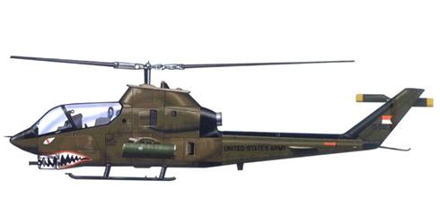 AH-1G COBRA, 8º Escuadrón, 3º de Caballería, 1977.