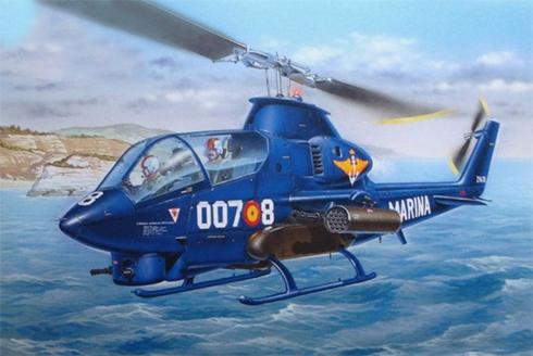 Bell AH-1 G COBRA, 7ª Escuadrilla, Armada Española, Base Naval de Rota, 1982.