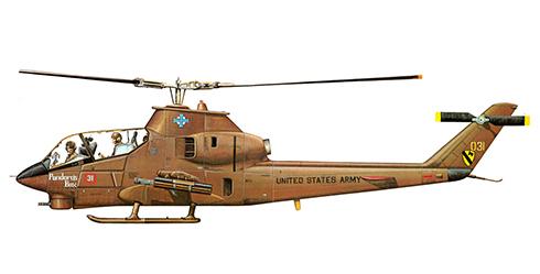 Bell AH-1 G COBRA, ''Pandora's Box'', Ejército de Estados Unidos.