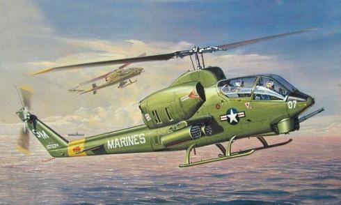 Bell AH-1J Sea Cobra, Marines de los Estados Unidos.