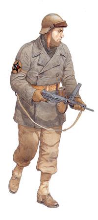 Soldados, Uniformes y Escenas de la Segunda Guerra Mundial (Dibujos y Pinturas) Comando-cuerpo-frances-pommies-49c2ba-regimiento-de-infanteria