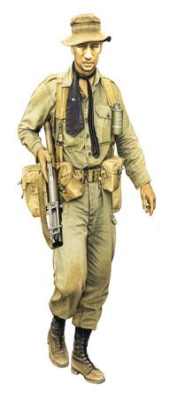 Granadero de Infanteria Neozelandesa, Vietnam, 1967.