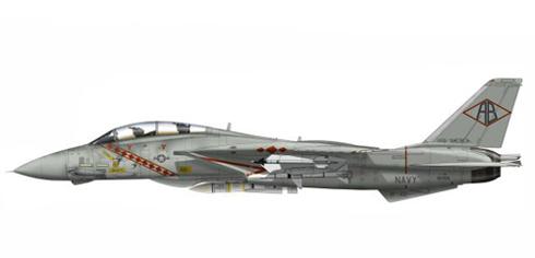 Grumman F-14 A Tomcat, VF-101 'Diamondbacks', USS. América, 1986.
