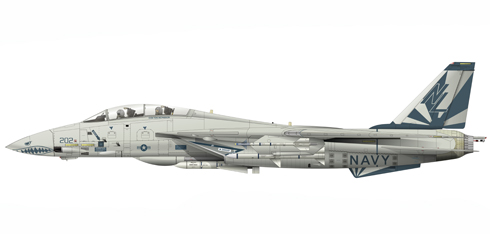 Grumman F-14 A Tomcat, VF-111 'Sundowners', USS. Carl Vinson, 1980.