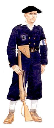 soldados franceses de la segunda guerra mundial