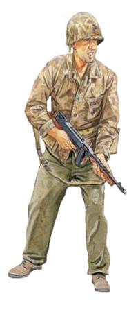 Soldados, Uniformes y Escenas de la Segunda Guerra Mundial (Dibujos y Pinturas) Marine-2c2aa-division-u-s-m-c-tarawa-1943