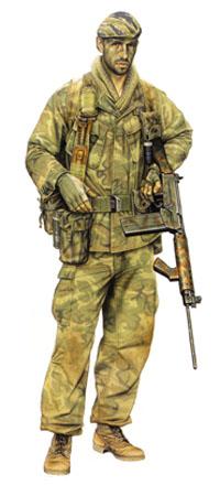 Miembro Patrulla 3er. Escuadrón, SASR, Vietnam, 1969.