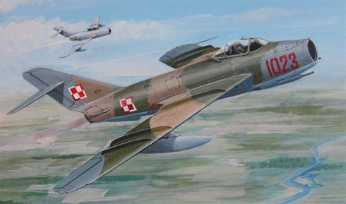 Mikoyan-Gurevich MIG-17 Fresco 'LIM-5', Fuerza Aérea Polaca, 1971.