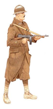 Soldados, Uniformes y Escenas de la Segunda Guerra Mundial (Dibujos y Pinturas) Sargento-2c2ba-regimiento-de-tiradores-algerianos-tunicia-1943