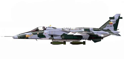 Sepecat Jaguar A, Ala 21 de combate, Fuerza Aérea Ecuatoriana, Base Aérea de Taura, 1996.