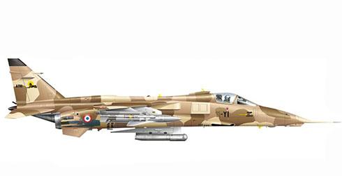 Sepecat Jaguar A, EC a-11,Armee de l'Air, Base Aérea de Toul-Rosières, este Jaguar va equipado con misilesAS-30.