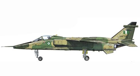Sepecat Jaguar A GR.1, Fuerza aérea de Nigéria.