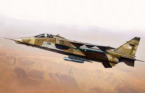 Sepecat Jaguar A de la Armée de l'Air, Guerra del Golfo, Irak, 1991.