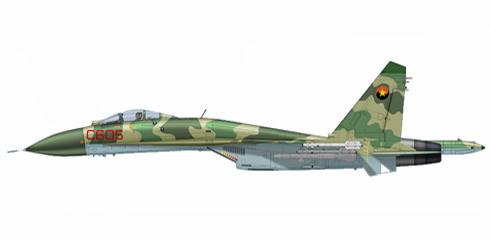 Sukhoi Su-27 S FLANKER, Fuerza Aérea Nacional de Angola, Luanda, Angola, 2002.