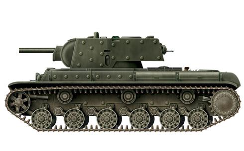 Tanque pesado KV-1 modelo 1940.