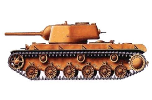 Tanque pesado KV-1, modelo 1941.