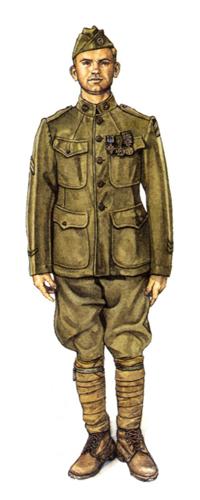 Cabo, 3ª División de Infantería, Enero de 1919.
