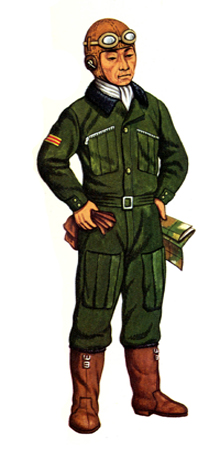 Chü-i (Teniente de 1ª), Fuerza aérea, 1940.