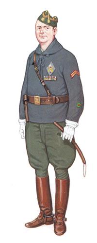 Comandante, Octubre de 1934.
