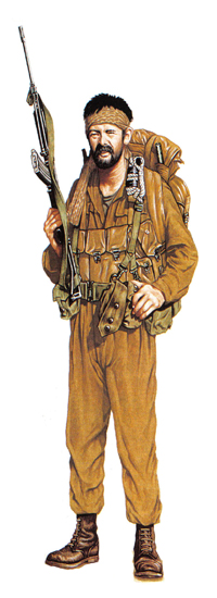 Explorador, 44 Brigada paracaidista, 1982.