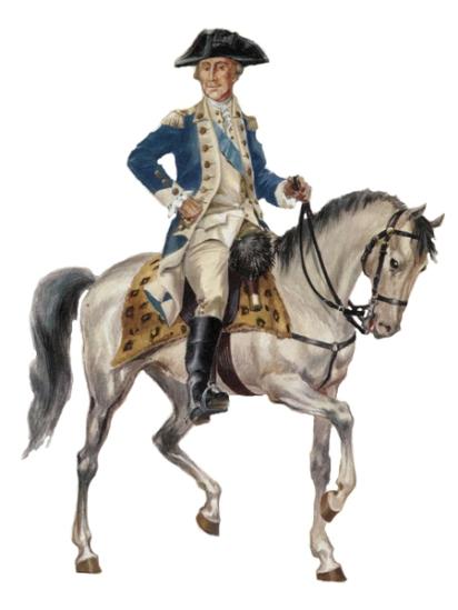 General George Washington, 1780.