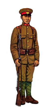 Ittöei (Soldado de 1º Clase), 1º de Infanteria Guardia Real, 1937.