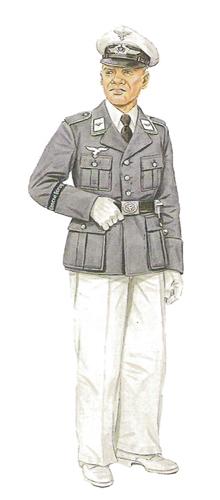 Oficial, Batallón Jäger, Berlín-Reinickendorf, verano de 1936.