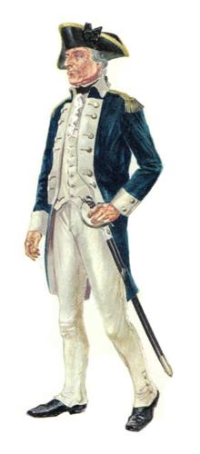 Oficial, Compañía Independiente Washington, 1782.