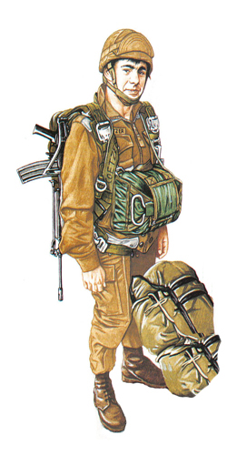 Paracaidista, 44 Brigada paracaidista, 1990.
