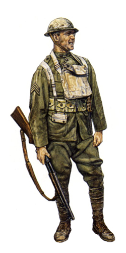Sargento, 42ª División, St. Mihiel, Septiembre de 1918.