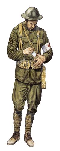 Sargento, Cuerpo médico, 1918.