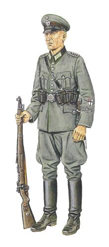 Sargento, Grupo Policía Nacional 'General Göring', 1933.