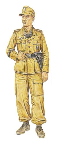 Sargento, Regimiento Panzer, Italia, verano de 1943.