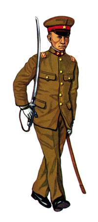 Shö-i, (Teniente de 2ª), Cuerpo de Ingenieros, China, 1938.