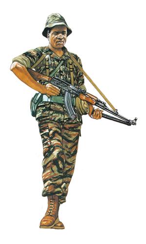 Soldado de reconocimiento, Fuerzas Especiales, 1984.